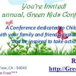 5th annual, Green Kids Conference