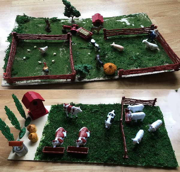 Farm-diorama
